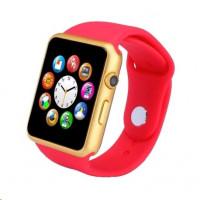SmartWatch GT08 červená, chytré hodinky
