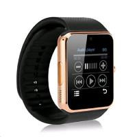 SmartWatch GT08 zlatá, chytré hodinky