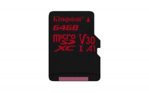 Kingston SDCR/64GBSP microSDHC 64GB UHS-I paměťová karta