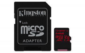 Kingston SDCR/64GB microSDXC 64GB UHS-I paměťová karta