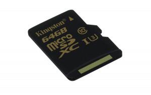 Kingston SDCG/64GBSP microSDXC 64GB UHS-I U3 paměťová karta