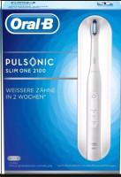Braun Oral-B Pulsonic SLIM ONE 2100, elektrický zubní kartáček, bílý