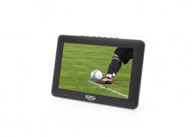 """Xoro PTL 900 9"""" LCD 1024 x 600px přenosná televize černá"""