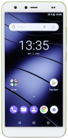 Gigaset GS100 lemon green chytrý telefon