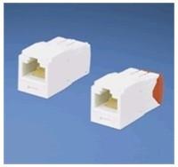 UTP modul RJ45 MiniJack-TG kat.5E, bílý - balení 1 ks (CJ5E88TGWH)
