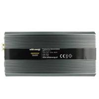 Napěťový měnič DC/AC 24V/230V 1500W, 2 zásuvky AC