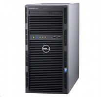 Dell PowerEdge T30 E3-1225v5 8G 2x2TB SATA/RAID1 DVDRW 1xGLAN 290W 3RNBD Black