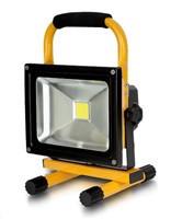 Whitenergy přenosné LED světlo s akumulátorem (9921)