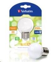 VERBATIM LED žárovka,LED Mini Globe E27 3.5W 3000K WW 250LM 160 Degree (52135)