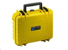B&W International Type 500 yellow incl. pre-cut foam