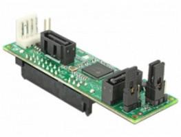 Delock převodník SATA Host > 2 x SATA zařízení s RAID