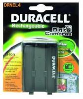 DURACELL Baterie - DRNEL4 pro Nikon EN-EL4, černá, 2200 mAh, 10.8 V