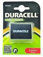 DURACELL Baterie - DRC827 pro Canon BP-827, černá, 2550 mAh, 7.4 V /Super Extended Life