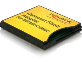 Delock Compact Flash adaptér > SD / MMC paměťové karty