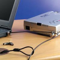 Zámek Microsaver Twin Notebook Lock - na klíč