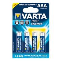 VARTA baterie 1.5V LR03 (AAA) high energy 4ks - VARTA-4903/4B