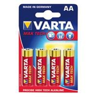 VARTA baterie 1.5V LR03 (AA) max tech 4ks - VARTA-4706/4B