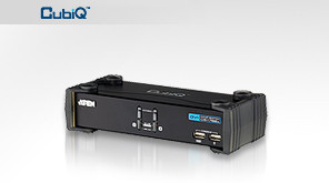 ATEN 2port DVI KVMP USB hub, audio, 1.2m