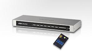 ATEN 8port HDMI video switch, přenos do 20 m., DO