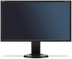 "NEC Monitor MultiSync LCD E223W 22"" wide, černá barva"