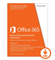 Microsoft Office 365 Home Premium, 1 Year Subscription - Online (6GQ-00092)