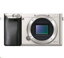 Sony A6000L, 16-50mm, 24,3Mpix, stíbrný (ILCE6000LS.CEC)