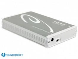 """Delock 2.5"""" externí skříň pro SATA HDD s připojením na Thunderbolt™ (až do 15 mm HDD) (42510)"""