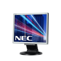 "17"" LED NEC E171M - 1280x1024, DVI, rep,HAS, silver-black"