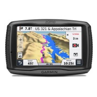"Garmin zümo 590 Europe Lifetime, 5"", Bluetooth, bez TOPO map -Bazarový kus"