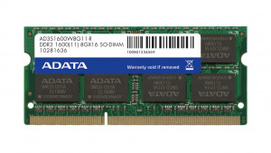 ADATA 8GB DDR3 1600MHz CL11 SO-DIMM (AD3S1600W8G11-R)