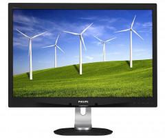"Monitor Philips 240B4QPYEB 24"" wide LED FHD, 5ms, VGA, DVI-D, DP, VESA"