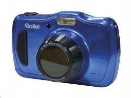 """Rollei Sportsline 100/ 20 Fotoaparát MPix, 0 4x zoom, 2,7"""" LCD, Voděodolný, HD video, Modrý"""