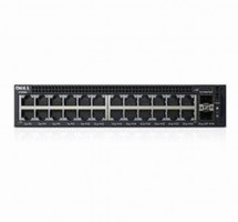 Dell Networking X1026 Smart Web Managed Switch 24x 1GbE and 2x 1GbE SFP ports/X1026X1026P Limited Lifetime Hardware War