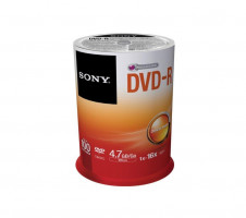 Sony DVD-R 4,7 GB | 16x [cake 100 pcs]