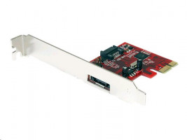 StarTech SATA 6Gb/s / eSATA 6Gb/s nízký profil (PEXSAT31E1)