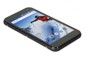 EVOLVEO StrongPhone G4, vodotěsný odolný Android Quad Core smartphone, hybridní dual SIM (SGP-G4-A7)
