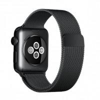 Apple pásek k hodinkám Černá