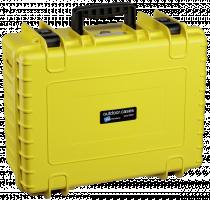 B&W Copter Pouzdro typu 6000/Y žluté s GoPro Karma Inlay