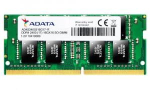 ADATA Premier 16GB DDR4 2400MHz / SO-DIMM / CL17 / (AD4S2400316G17-R)