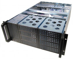 Chieftec IPC case 4U series UNC-410F-B, 400W PSU (PSF-400A)