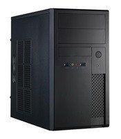 CHIEFTEC Case Mesh Series/Minitower, 350W, XT-01B-350S8, Black, USB 3.0
