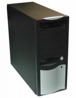 EUROCASE MidT ML-5410 CAROHO 450W/12cm/PFC, černostříbrná (ML5410CAROHO450J1)