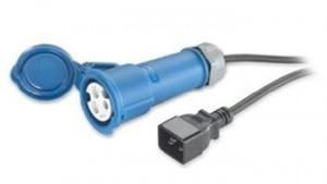 APC Power Cord, 16A, 230V, C20 to IEC 309F 2,5 metru (AP9899)
