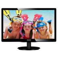 "Monitor Philips V-line 220V4LSB/00 22"" LED, DVI, EPEAT Silver, EPA5.0, černá barva"