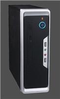 EUROCASE mini ITX Wi-01, USB, AU, TFX, bez zdroje
