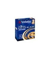 Verbatim DVD-RAM, 5-pack / 9,4GB / 3x / Type 4 / Jewel pouzdro
