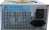 EUROCASE zdroj 550W, 14cm fan, PFC ATX 20/24pin, 2x SATA (847330001149)