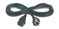 APC Power Cord, 16A, 230V, C19 to Schuko (AP9875)