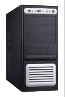 EUROCASE MidT ML-5435 CARODO 400W/12cm/PFC, černostříbrný (ML5435CARODO400J6)