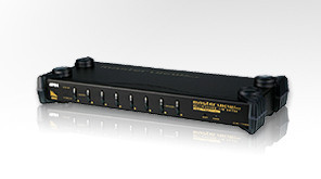 ATEN 8 port KVM USB/PS2, audio, OSD, rack 19""
